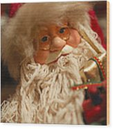 Santa Claus - Antique Ornament - 08 Wood Print
