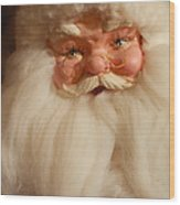 Santa Claus - Antique Ornament - 14 Wood Print