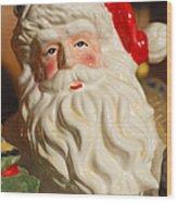 Santa Claus - Antique Ornament - 19 Wood Print by Jill Reger