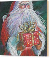 Santa Claus - The Perfect Gift Wood Print