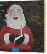 Santa Clause Wood Print
