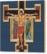 Santa Croce Wood Print by Joseph Malham