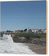 Santa Cruz Coast  Wood Print