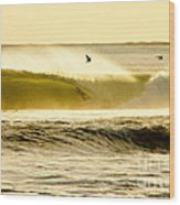 Santa Cruz Surfers Dream Wood Print