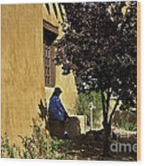 Santa Fe Afternoon - New Mexico Wood Print
