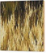 Santa Fe Grasses G Wood Print