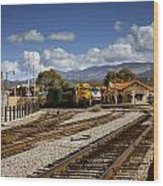 Santa Fe Rail Road Wood Print