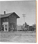 Santa Fe Railway, 1883 Wood Print