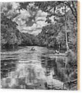 Santa Fe River Park Wood Print
