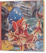New Yorker December 19th, 1994 Wood Print