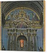 Santa Maria Church In Assisi Italy Wood Print