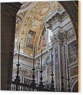 Santa Maria Maggiore Wood Print