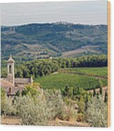 Santa Maria Novella Priory Tuscany Wood Print