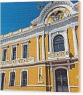 Santa Marta City Hall Wood Print