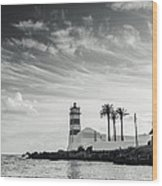 Santa Marta Lighthouse I Wood Print
