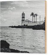 Santa Marta Lighthouse II Wood Print