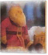 Santa Photo Art 07 Wood Print