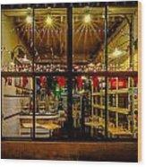 Santa-ready Pike Place Chowder After Closing Wood Print