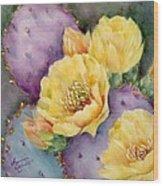 Santa Rita In Bloom Wood Print