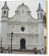 Santa Rosa Cathedral Wood Print