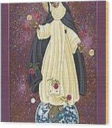 Santa Rosa Patroness Of The Americas 166 Wood Print