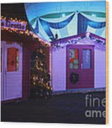 Santa's Grotto In The Winter Gardens Bournemouth Wood Print