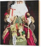 Santa's List Two Wood Print