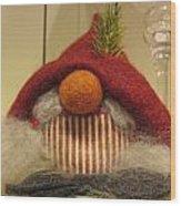 Santas Nose Wood Print