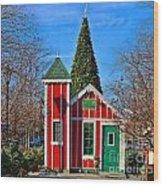 Santas Workshop Wood Print