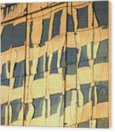 Santiago Reflection II Wood Print