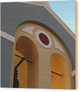 Santorini 13 Wood Print