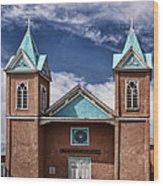 Santuario De San Lorenzo Wood Print