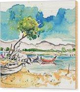 Sao Jacinto 03 Wood Print