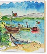 Sao Jacinto 07 Wood Print