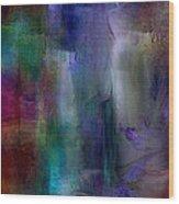 Sapphire Springs Wood Print