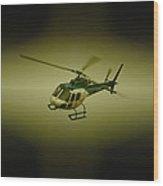 Saps Air Wing Wood Print