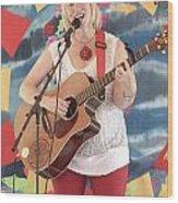 Sara Hickman Wood Print