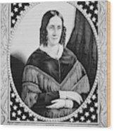 Sarah Childress Polk (1803-1891) Wood Print