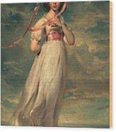 Sarah Goodwin Barrett Moulton Pinie 1794 Wood Print