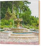 Sarah Lee Baker Perennial Garden 5 Wood Print