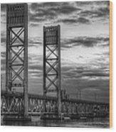 Sarah Long Bridge  Wood Print