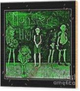 Sarah's Monster High Collection Frankenstein Effect Wood Print