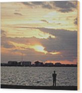 Sarasota 's Sunset Wood Print