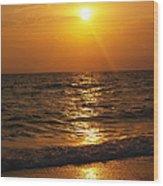 Sarasota Sunset Florida Wood Print