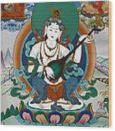 Saraswati 13 Wood Print
