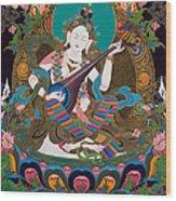 Saraswati 15 Wood Print