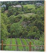 Saratoga California  Wood Print
