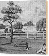 Saratoga, New York, 1794 Wood Print