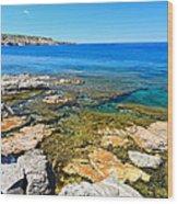 Sardinia - San Pietro Island Wood Print