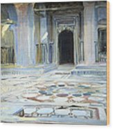 Sargent's Pavement In Cairo Wood Print
